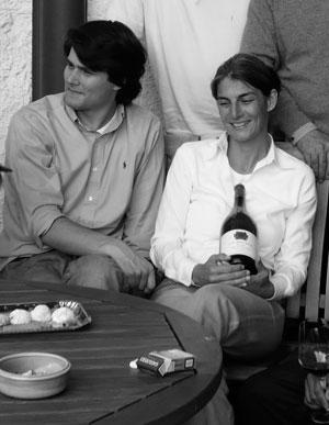 Elisabetta Foradori con il figlio Emilio